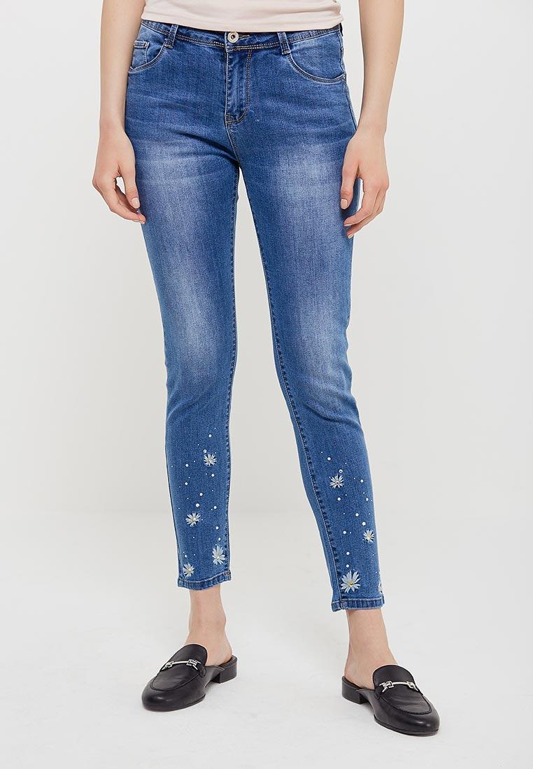 Зауженные джинсы Kiss Pink B002-BH6887