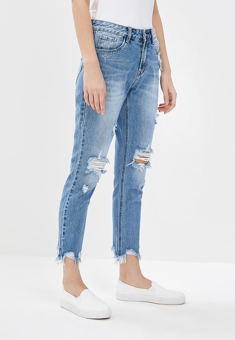 Зауженные джинсы Kiss Pink B002-BH6911