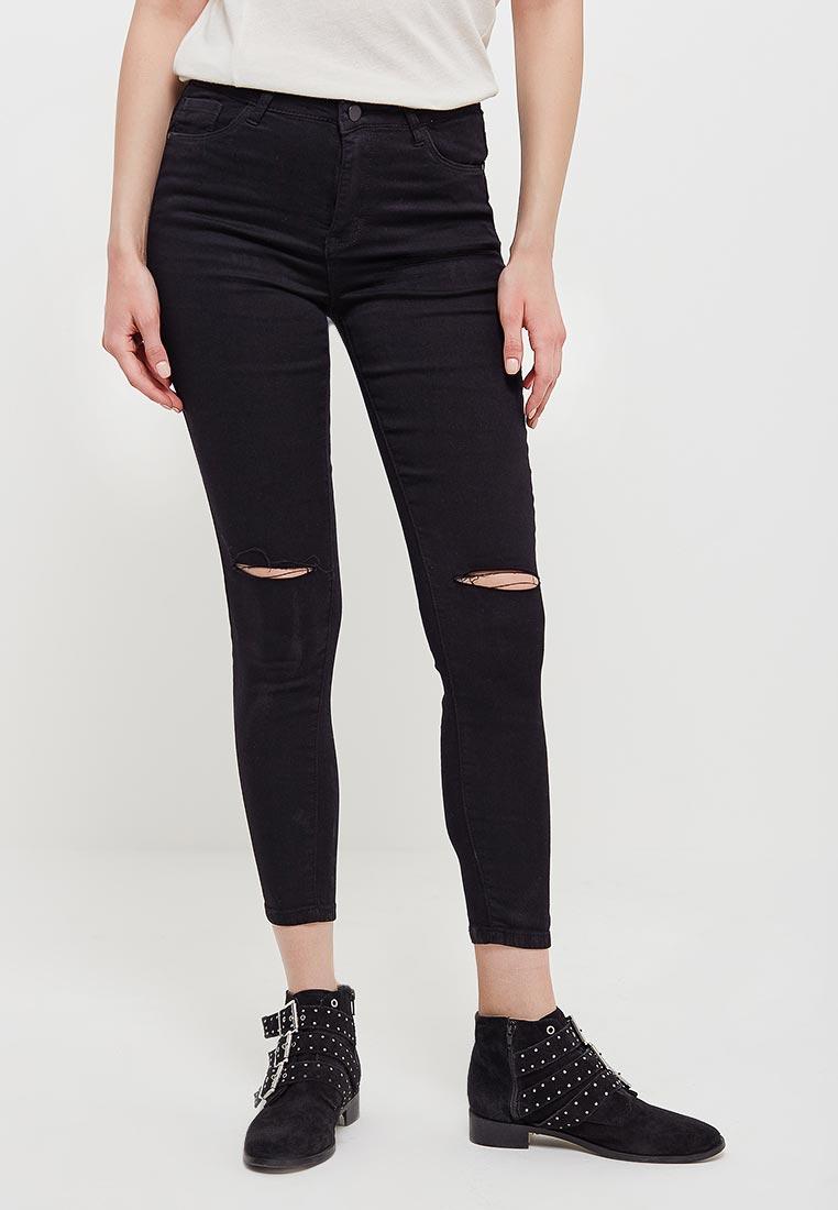 Зауженные джинсы Kiss Pink B002-F028-1