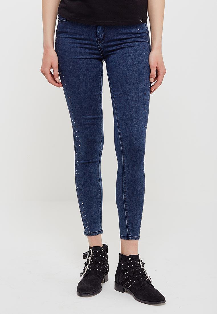 Зауженные джинсы Kiss Pink B002-LG120-2
