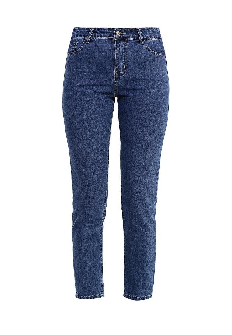 Зауженные джинсы Kiss Pink B002-G013