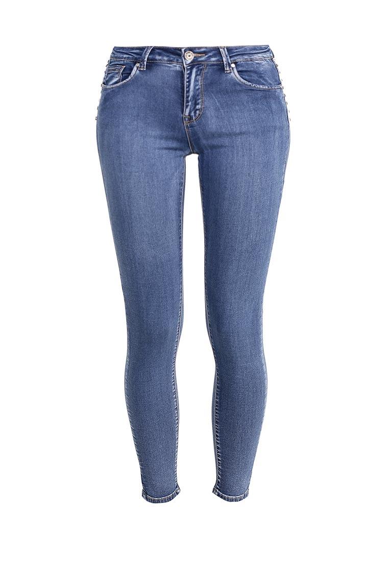 Зауженные джинсы Kiss Pink B002-BH6751