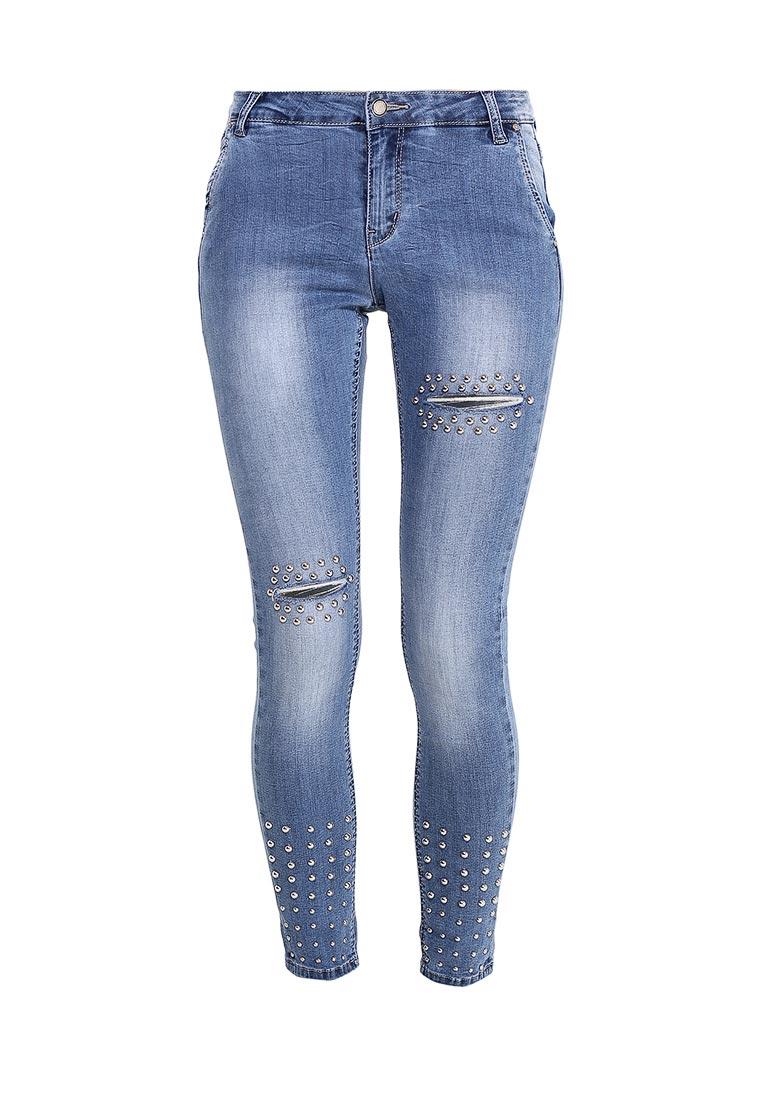 Зауженные джинсы Kiss Pink B002-BH6757