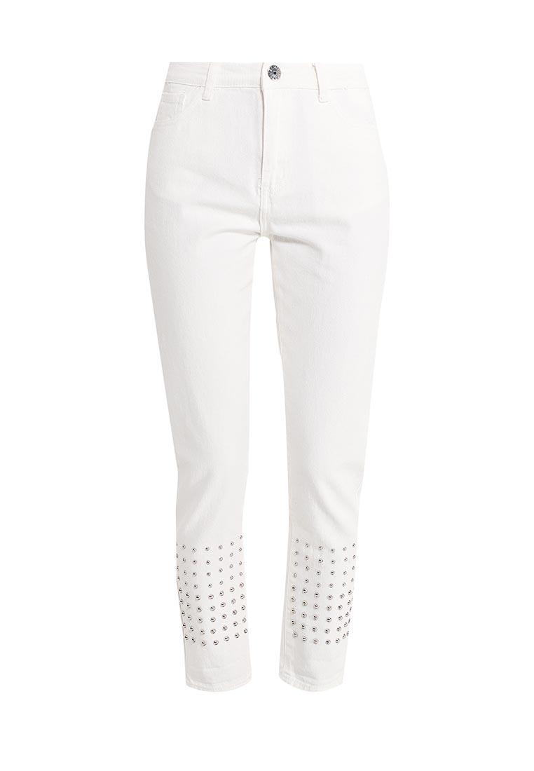 Зауженные джинсы Kiss Pink B002-G020