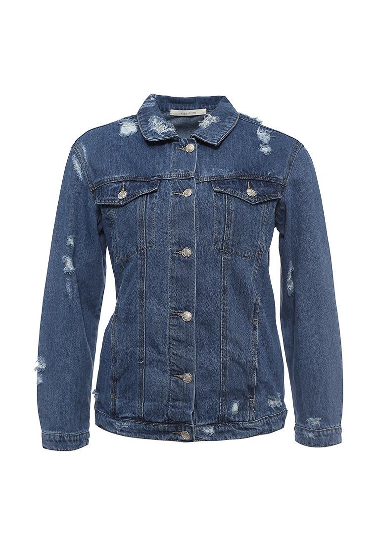 Джинсовая куртка Kiss Pink B002-T3032