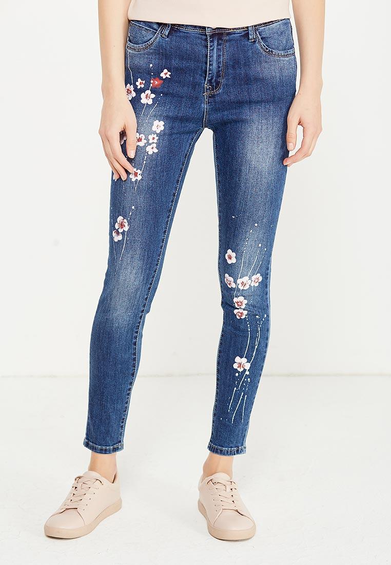 Зауженные джинсы Kiss Pink B002-BH6846
