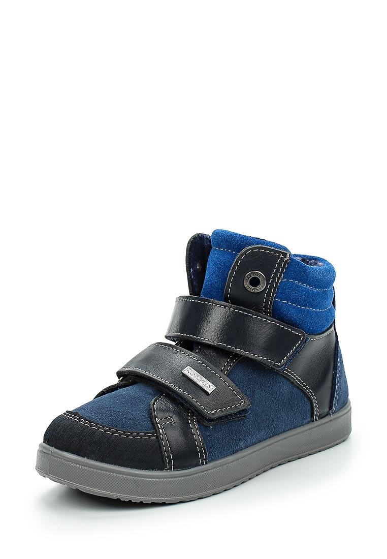 Ботинки для мальчиков Котофей 452097-32