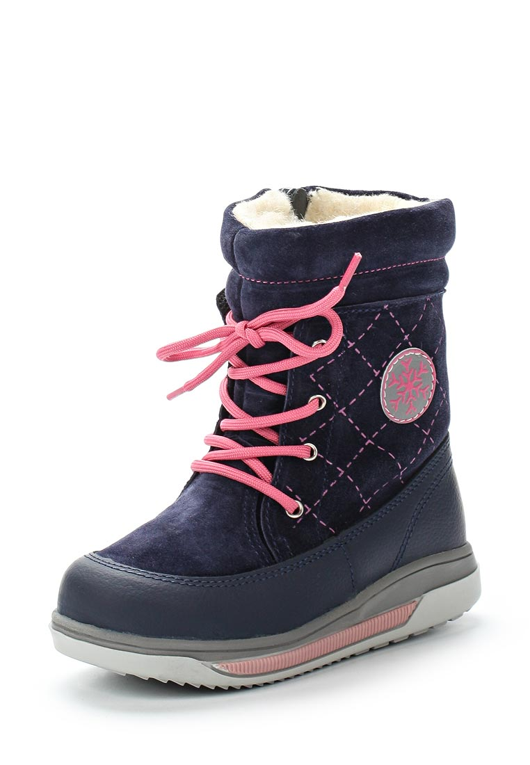 Ботинки для девочек Котофей 362068-41