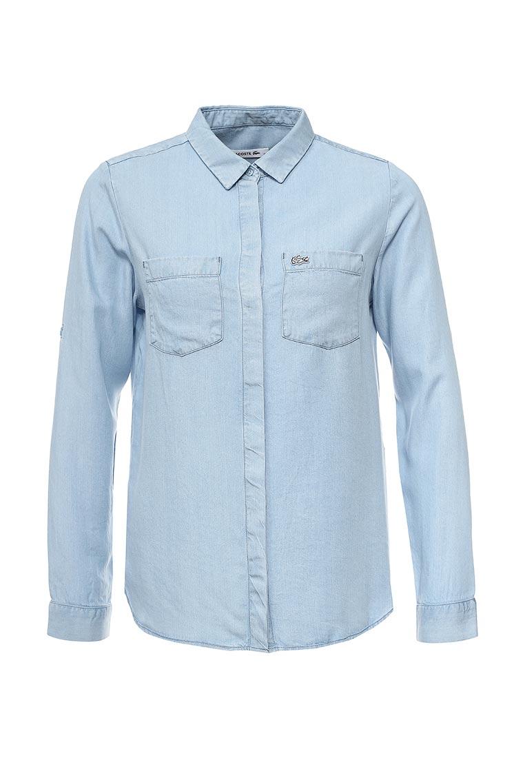 Женские джинсовые рубашки Lacoste (Лакост) CF071111L