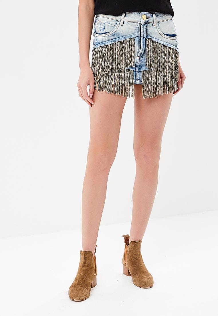 Джинсовая юбка Lança Perfume 501SA000111