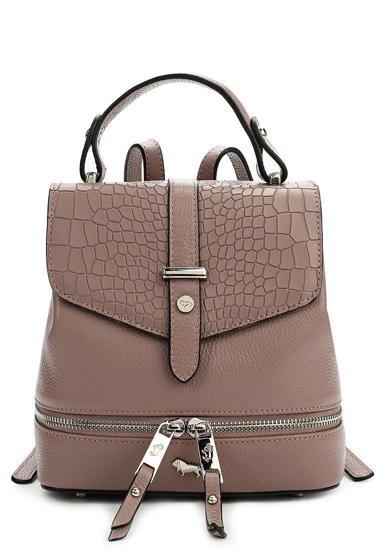 Городской рюкзак Labbra L-15869 pink-taupe