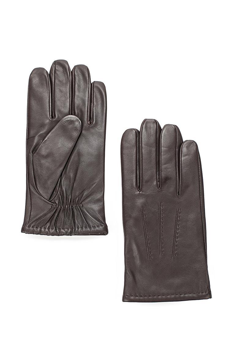 Мужские перчатки Labbra LB-0803 d.brown