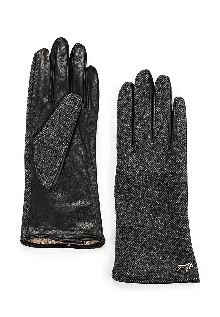 Женские перчатки Labbra LB-02065 black/grey