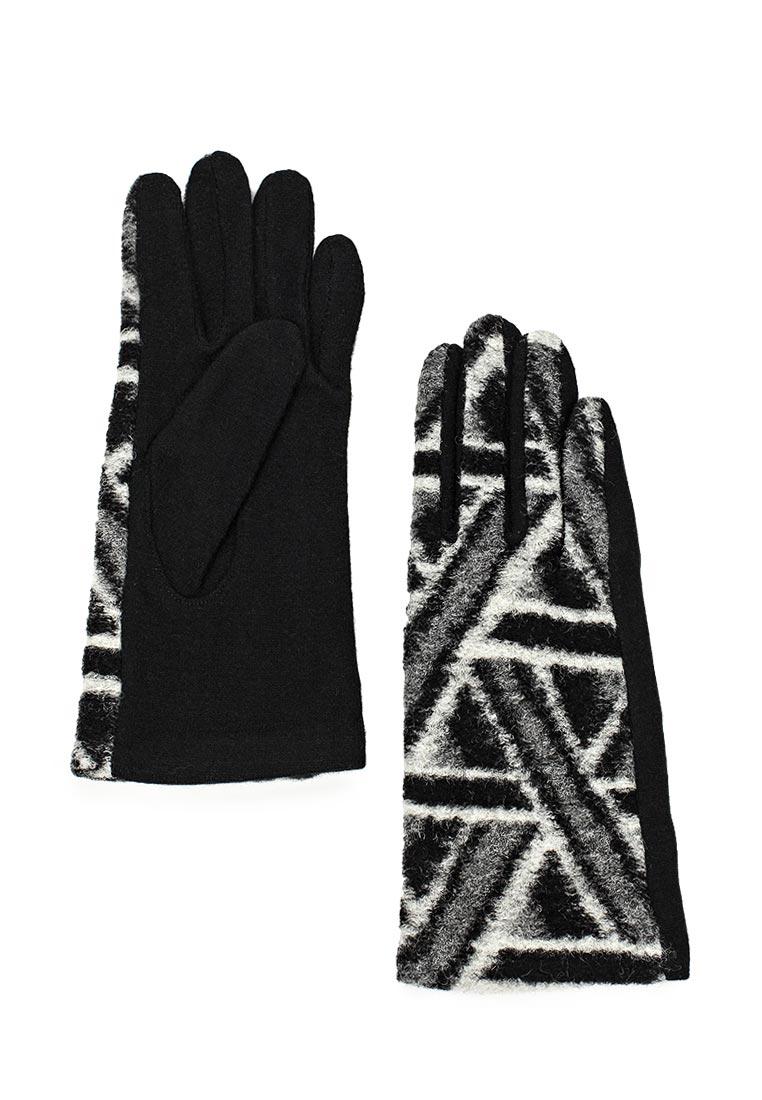 Женские перчатки Labbra (Лаббра) LB-PH-1607 black/grey