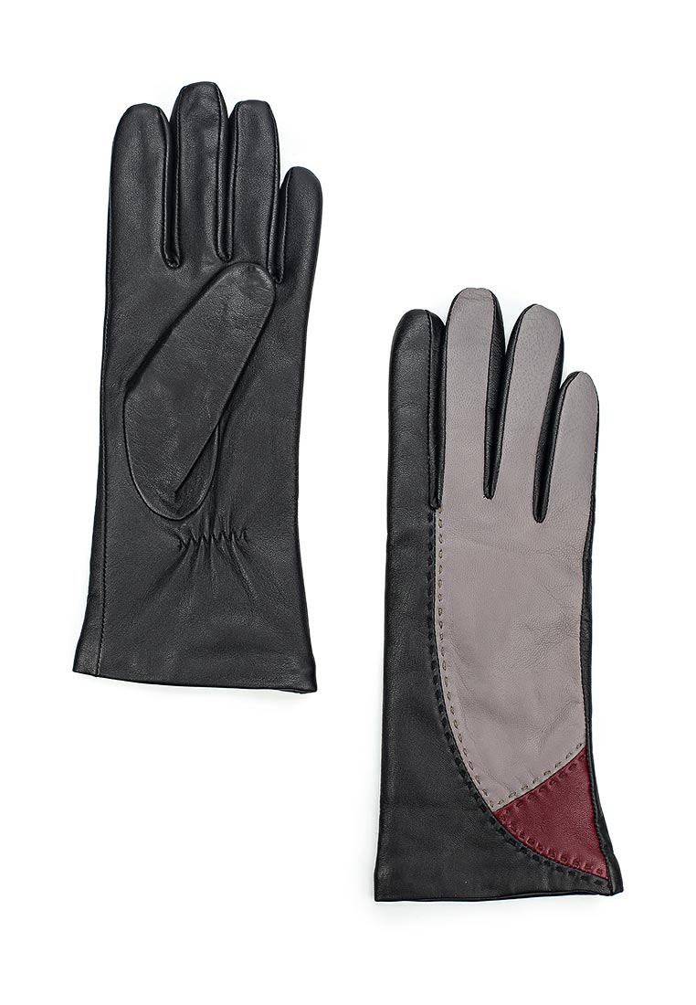 Женские перчатки Labbra LB-0311 black/l.grey