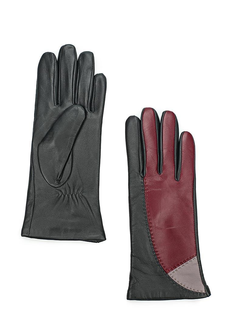 Женские перчатки Labbra LB-0311 d.grey/wine