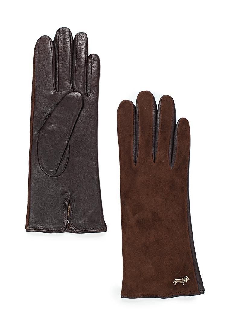 Женские перчатки Labbra LB-4707 d.brown