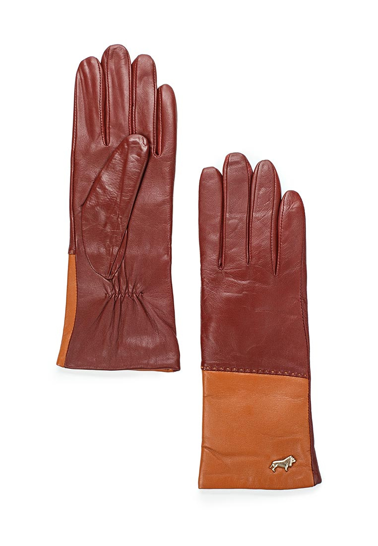 Женские перчатки Labbra LB-7777 luggage/cork