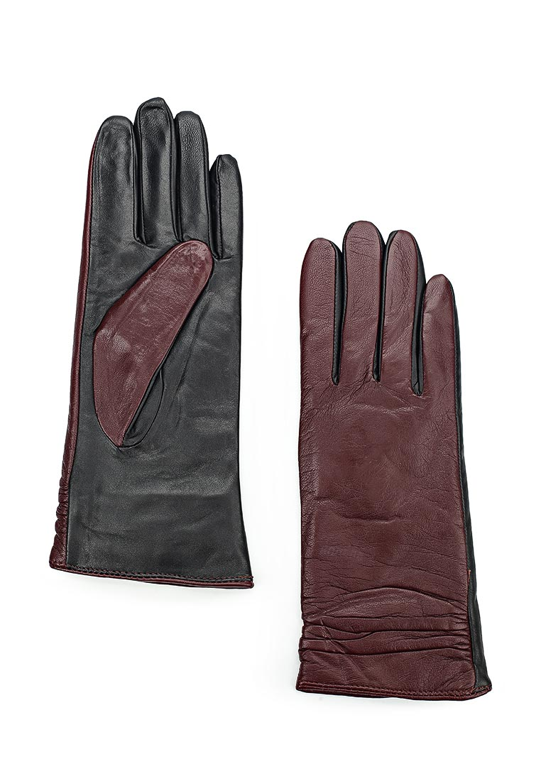 Женские перчатки Labbra LB-8338 MERLOT/BLACK