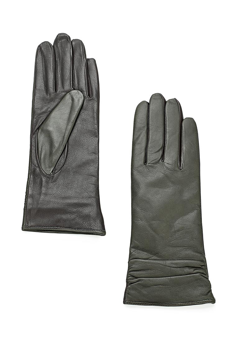 Женские перчатки Labbra LB-8338 olive/d.brown