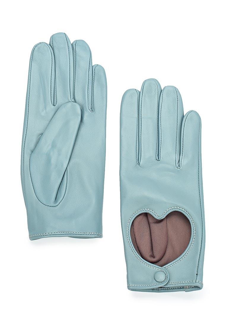 Женские перчатки Labbra LB-8440 stone/blue