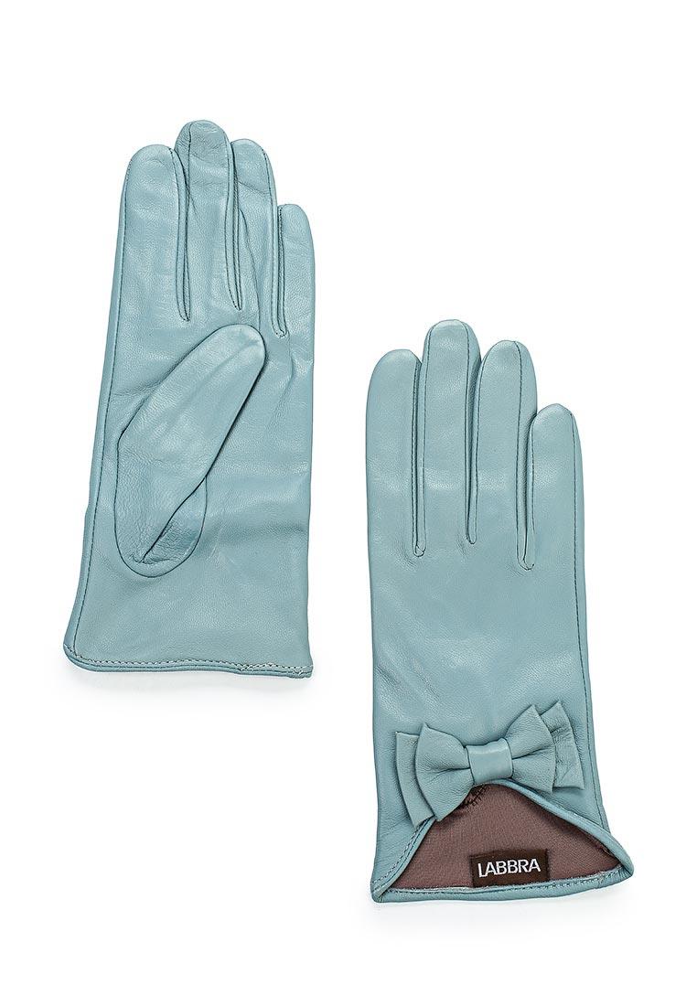 Женские перчатки Labbra LB-8445 stone/blue