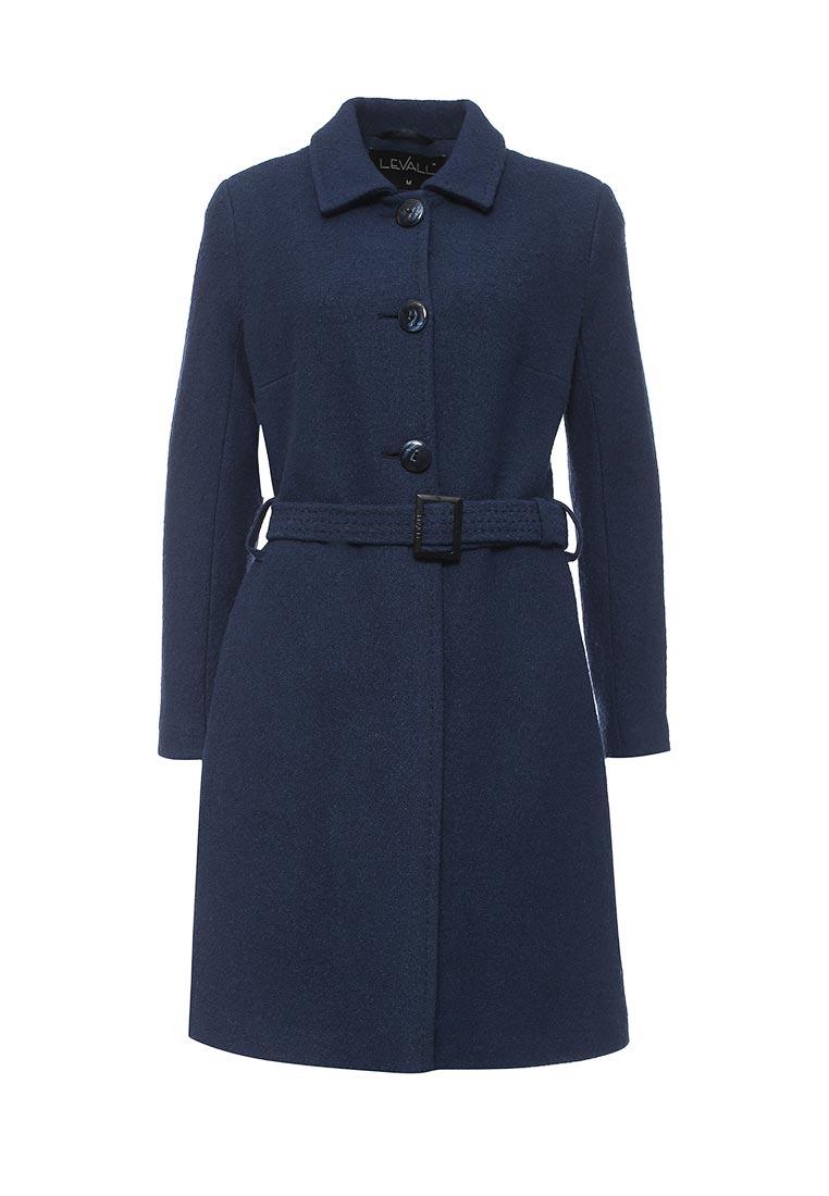 Женские пальто Levall 01521/12593 син