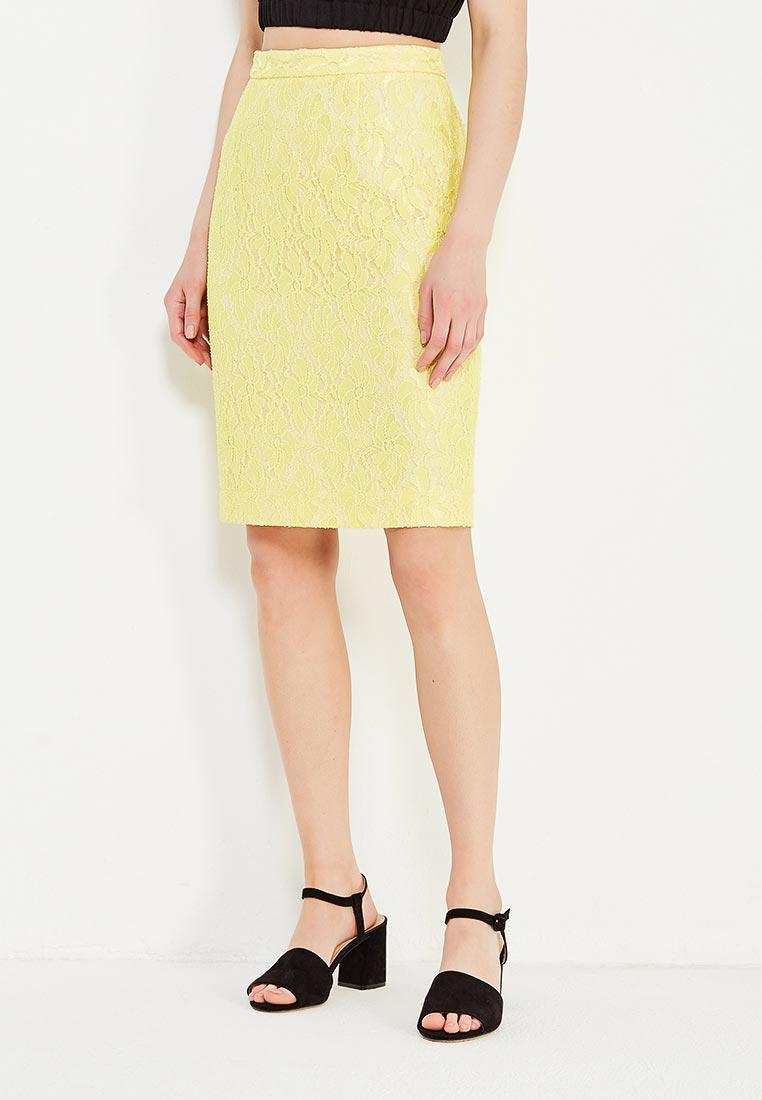 Мини-юбка Levall 01532/16344 желт