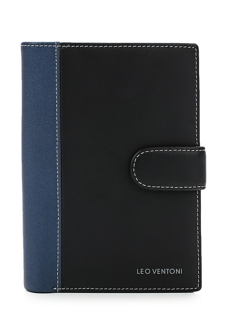 Кошелек Leo Ventoni L330834-Nero/Blue