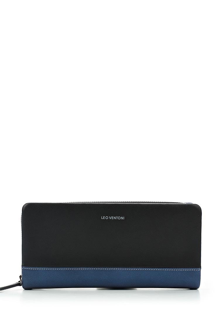 Кошелек Leo Ventoni L331022-Nero/Blue