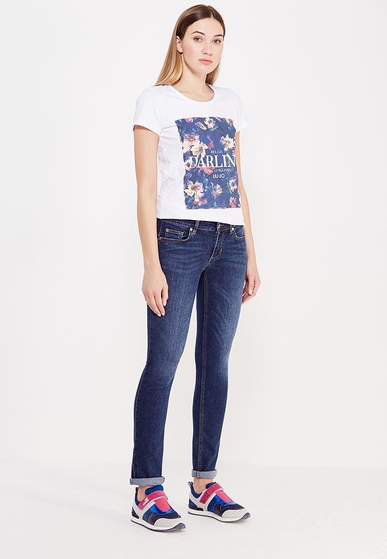 Зауженные джинсы Liu Jo Jeans U67005 D4112: изображение 2