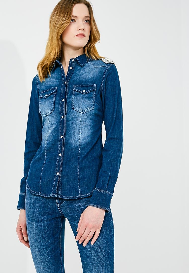 Женские джинсовые рубашки Liu Jo U18037 D4051