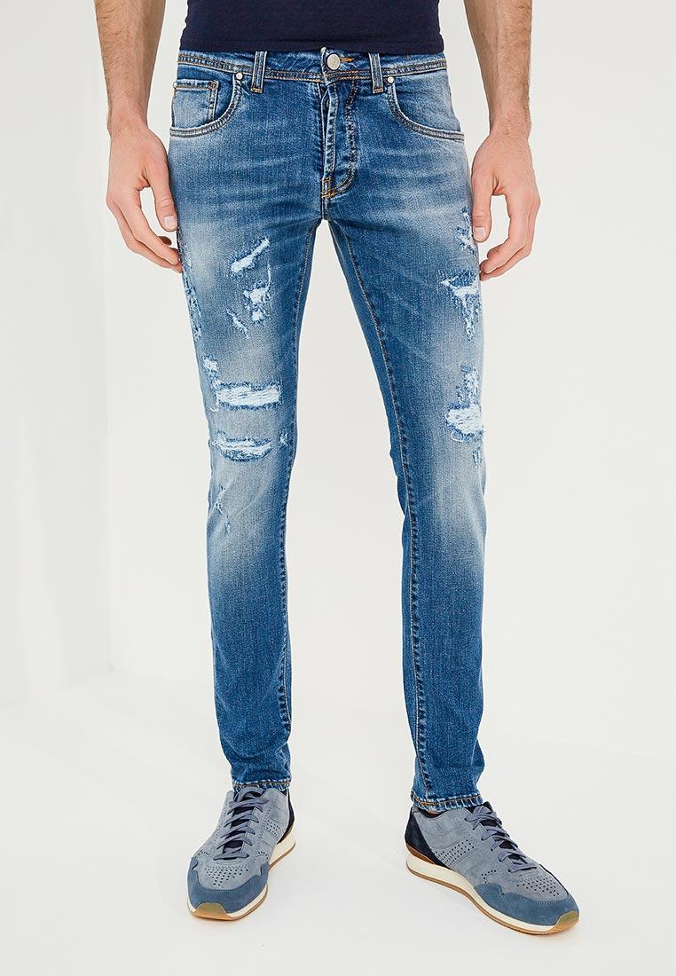 Зауженные джинсы Liu Jo Uomo M118P304FRANKRICH
