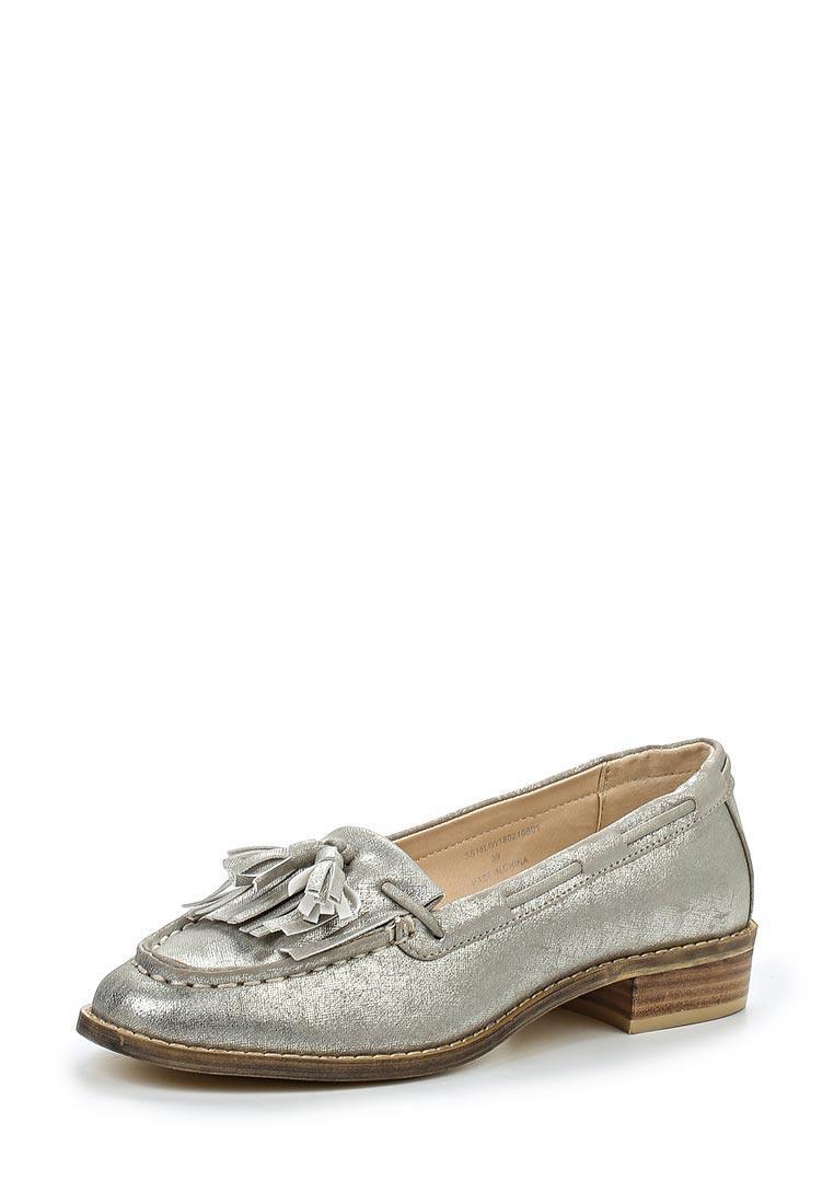 Туфли на плоской подошве LOST INK. (ЛОСТ ИНК.) SS16LIW1802010601