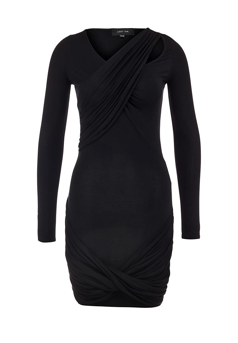 Повседневное платье LOST INK. (ЛОСТ ИНК.) FW15LIW1502023302
