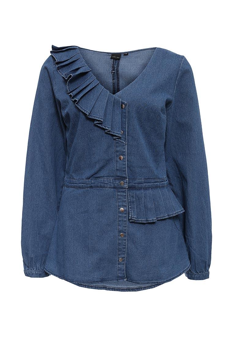 Женские джинсовые рубашки LOST INK (ЛОСТ ИНК) FW16LIW2107008201