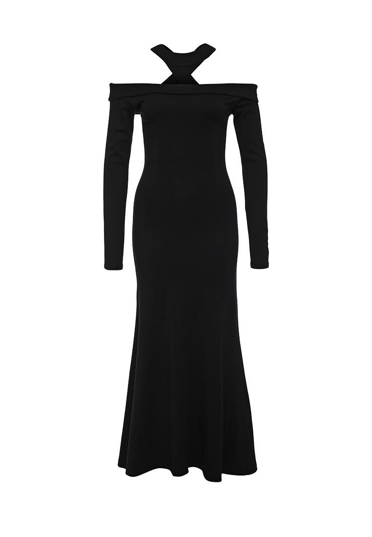Платье-макси LOST INK. (ЛОСТ ИНК.) FW16LIW1502030701