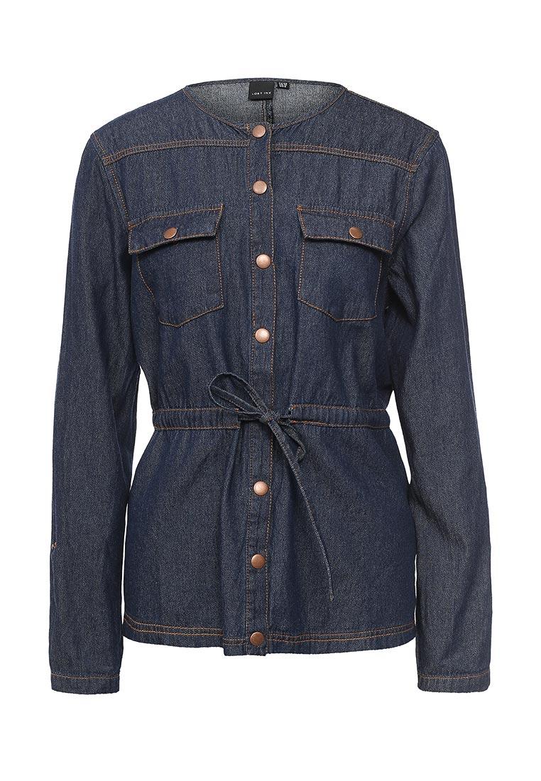 Женские джинсовые рубашки LOST INK (ЛОСТ ИНК) 501121170650027