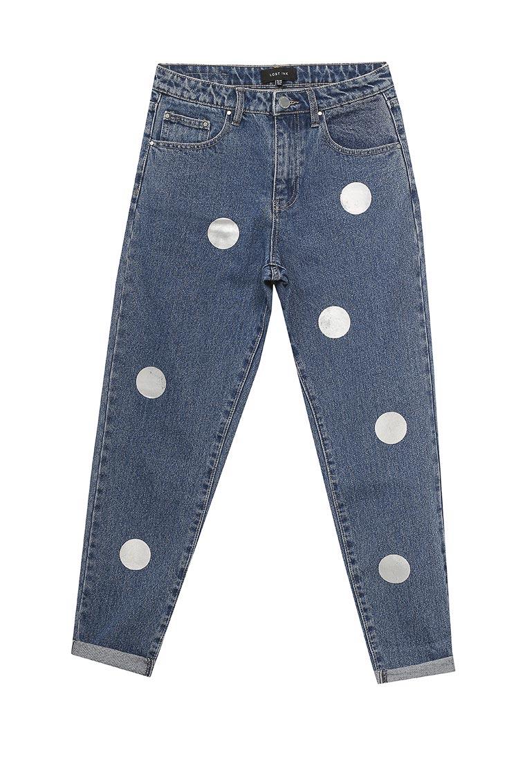 Зауженные джинсы LOST INK. (ЛОСТ ИНК.) 501114040760025