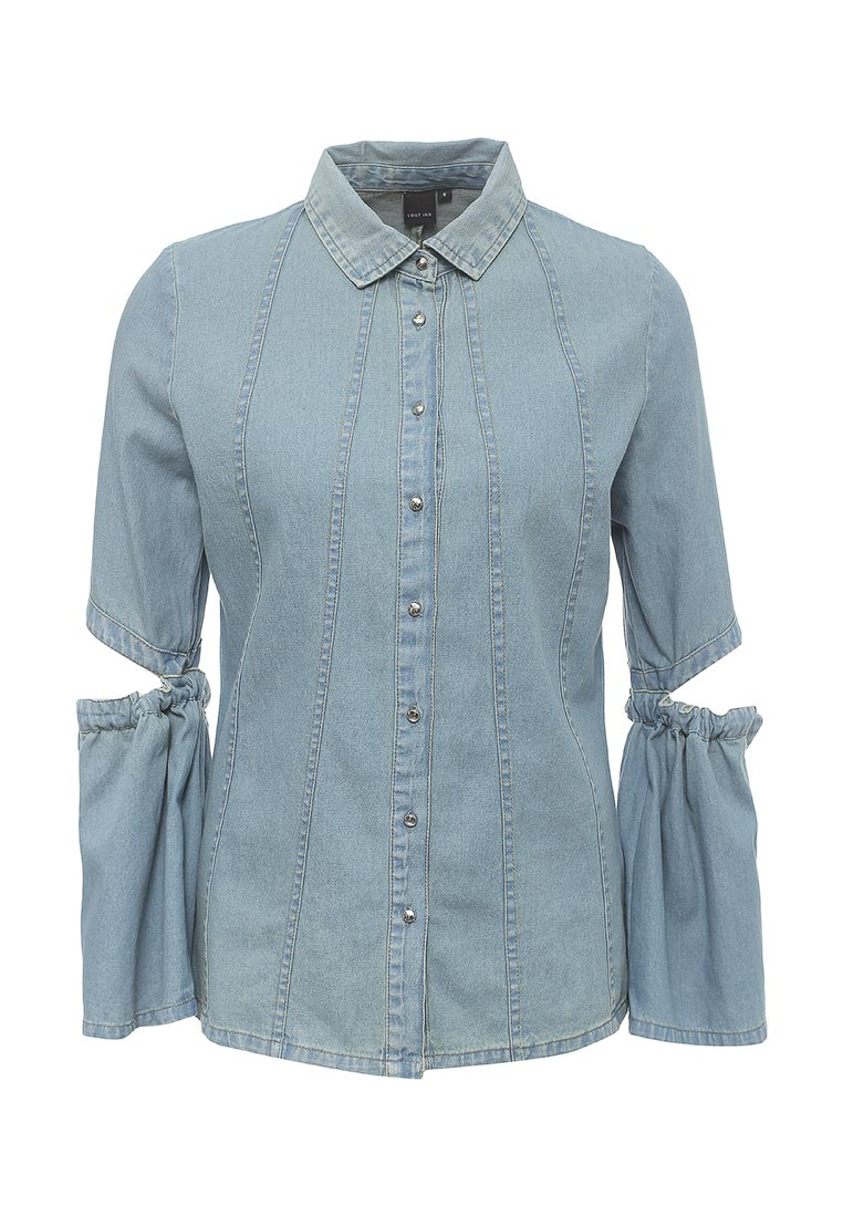 Женские джинсовые рубашки LOST INK (ЛОСТ ИНК) 501121070470026