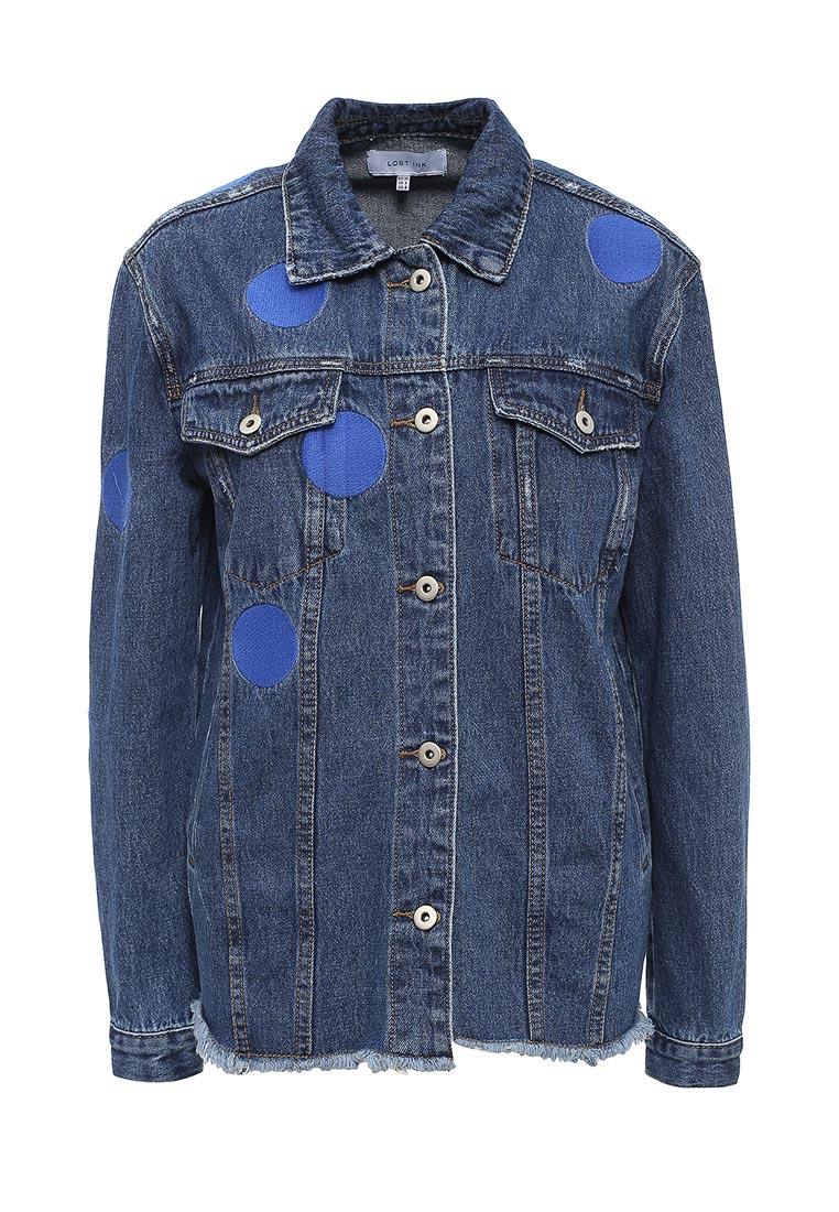 Джинсовая куртка LOST INK. (ЛОСТ ИНК.) 501120060900039