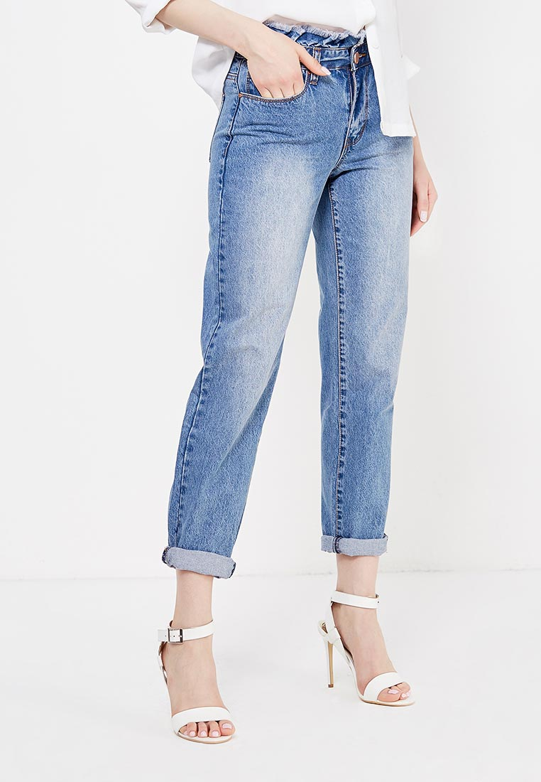 Прямые джинсы LOST INK. (ЛОСТ ИНК.) 501114040980026