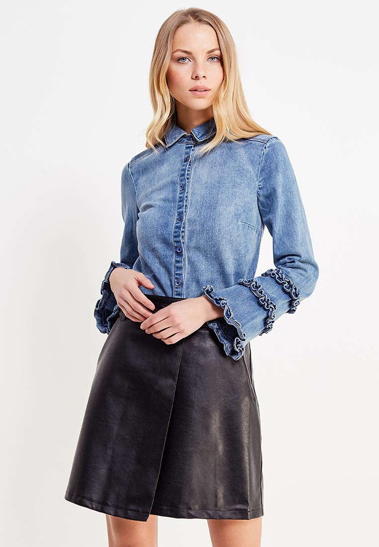 Женские джинсовые рубашки LOST INK (ЛОСТ ИНК) 601121070180021