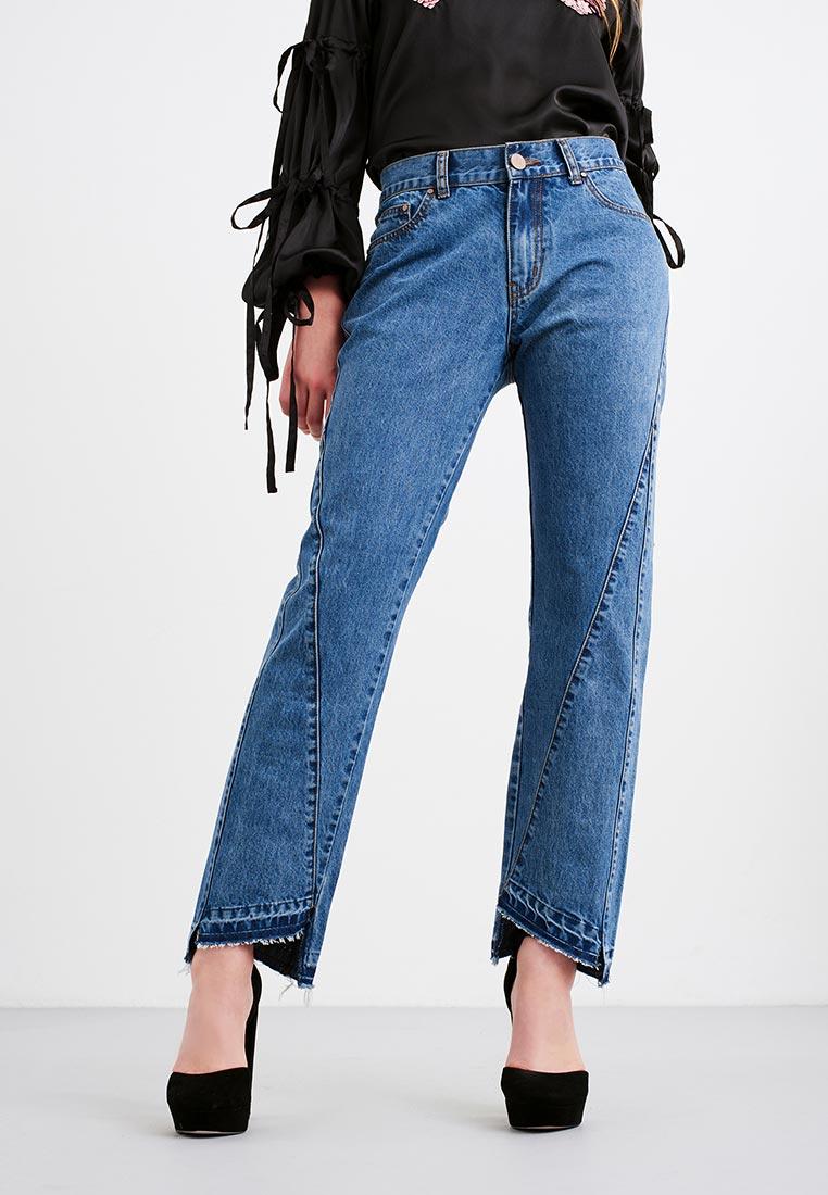 Широкие и расклешенные джинсы LOST INK. (ЛОСТ ИНК.) 601114041000025