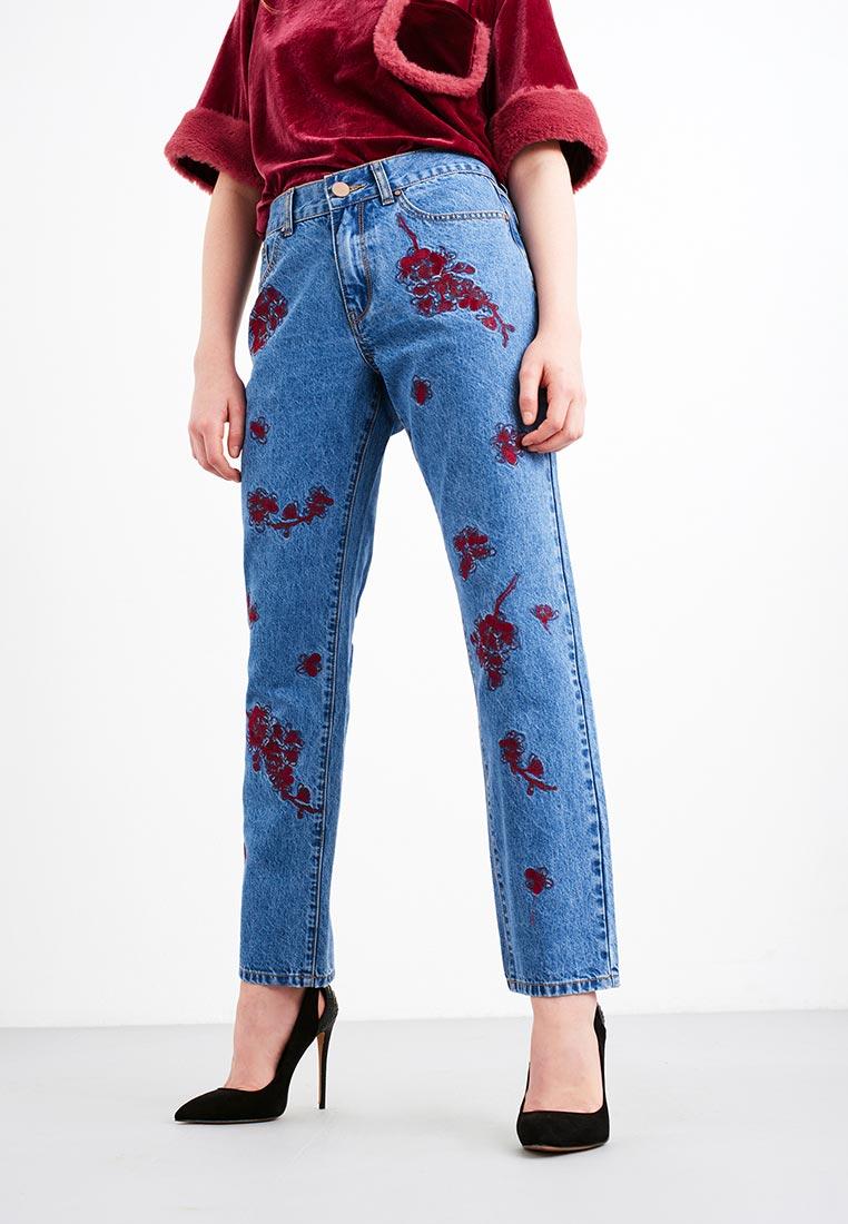 Прямые джинсы LOST INK. (ЛОСТ ИНК.) 601114040700027