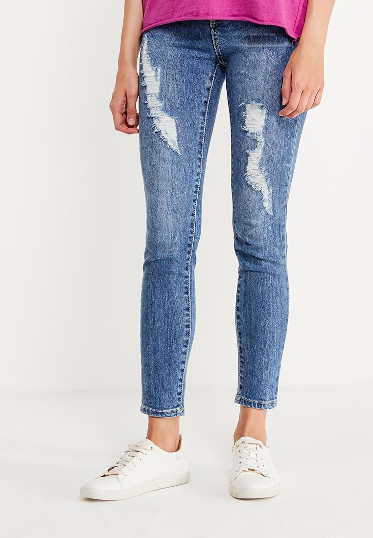 Зауженные джинсы Love Republic 7358201701