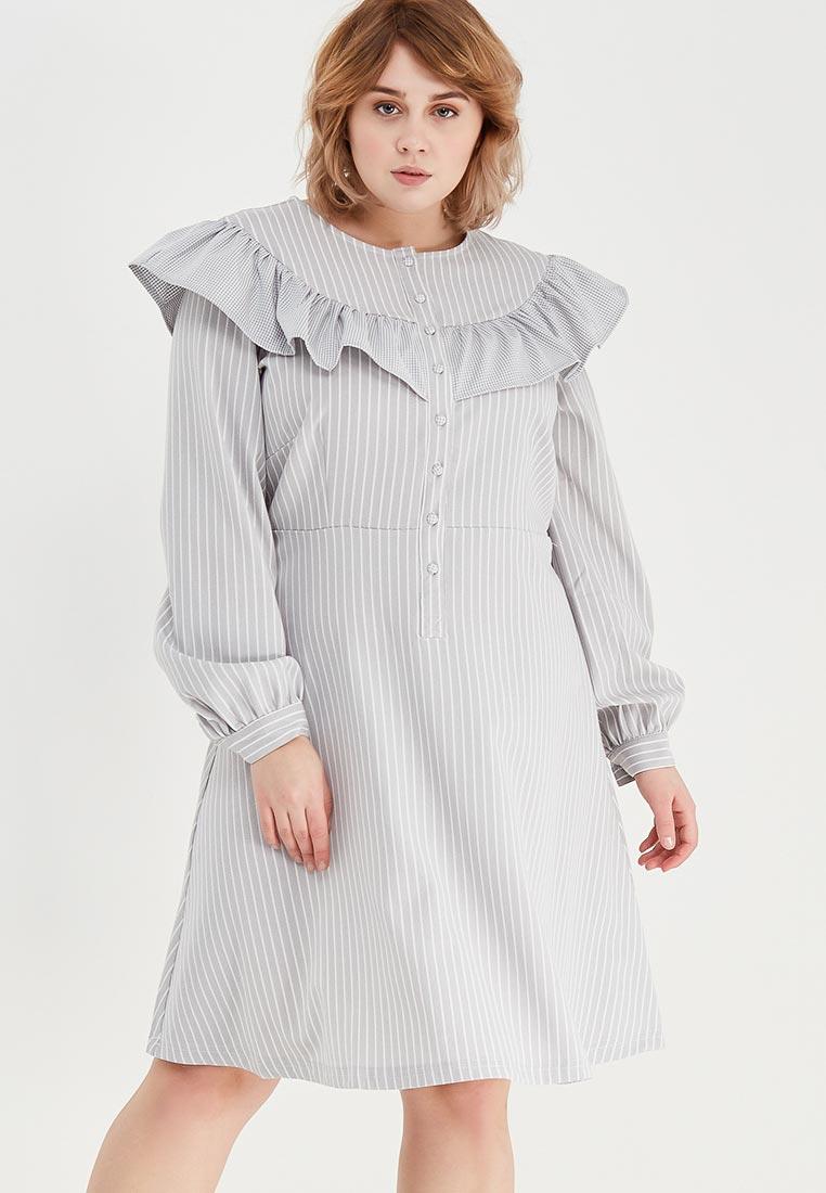 Платье-миди Lost Ink Plus 1003115020070018