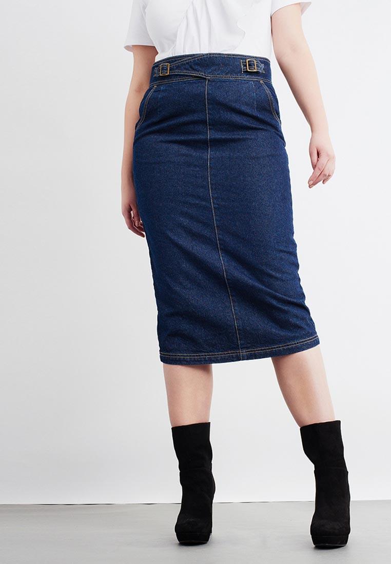 Джинсовая юбка Lost Ink Plus 603112090080025