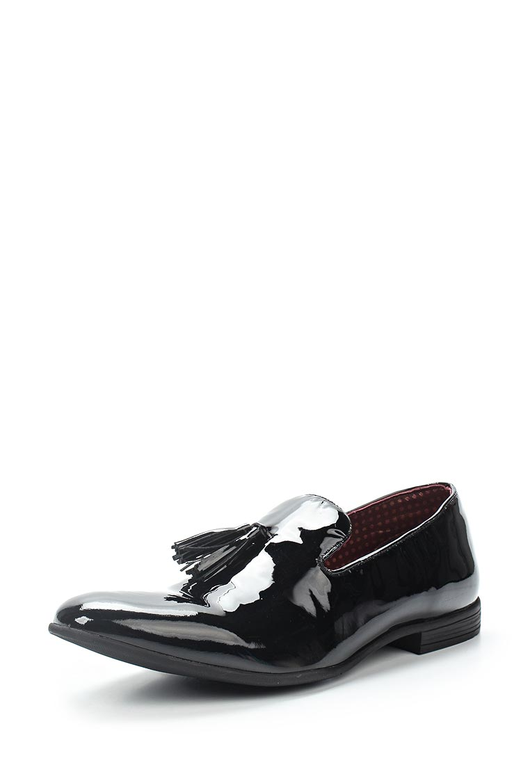 Мужские лоферы London Brogues PATENT SLIPPER