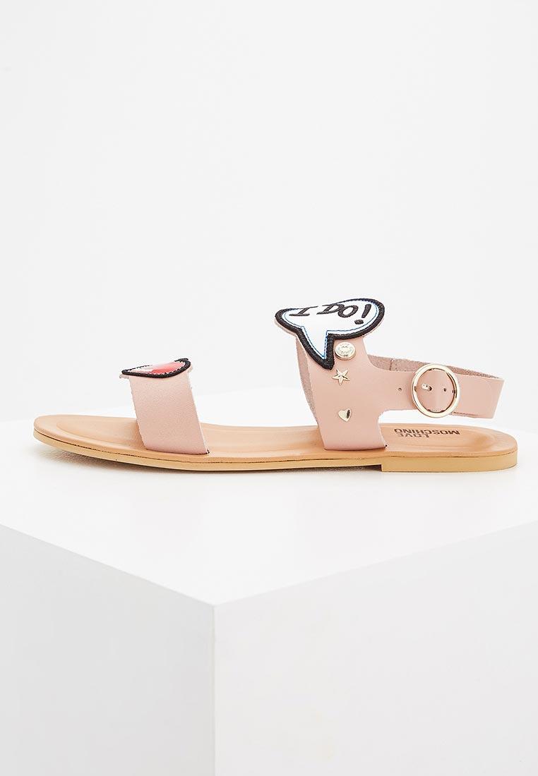 Женские сандалии Love Moschino JA16141C15IB0
